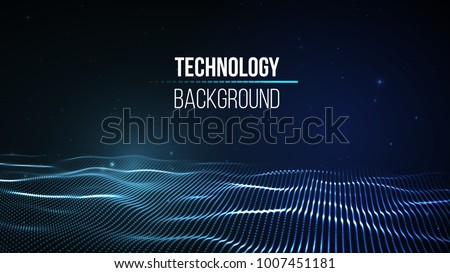 blue digital technology concept with circuit wire mesh diagram Stock photo © SArts