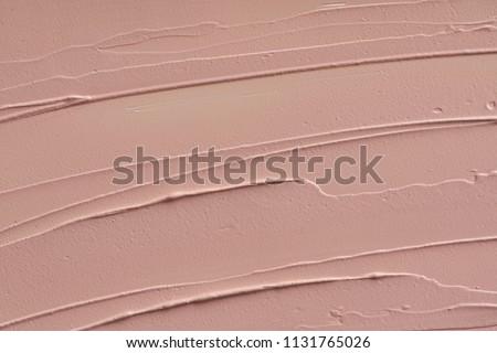 Cosméticos abstrato textura bege acrílico paint brush Foto stock © Anneleven