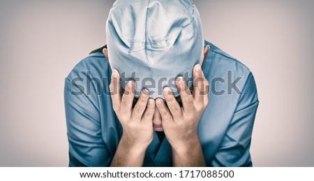 Sír orvos segítség kórház egészségügy munkások Stock fotó © Maridav