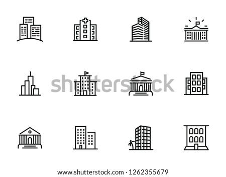 Icon_Building stock photo © zzve
