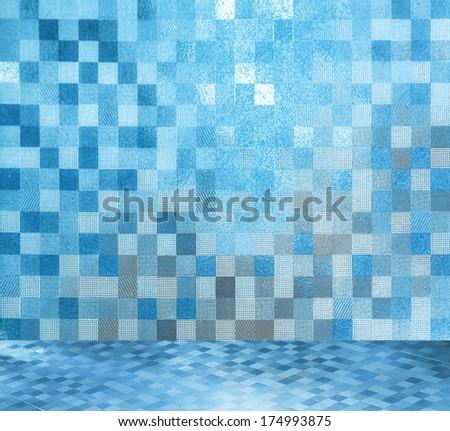 Pedra azulejos parede piso Foto stock © rufous
