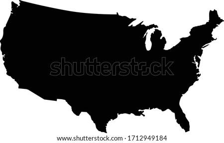 Carte États-Unis Virginie-Occidentale sur politique tous Photo stock © Istanbul2009
