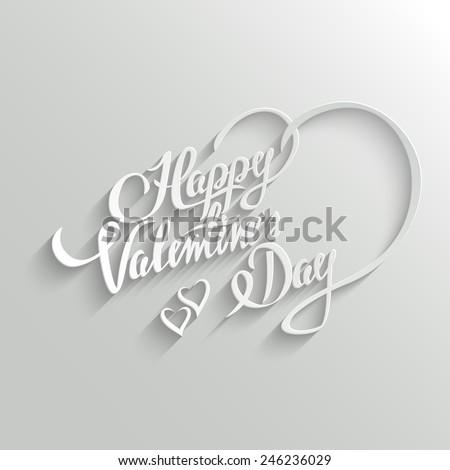 Amour titre texte heureux saint valentin Photo stock © bharat