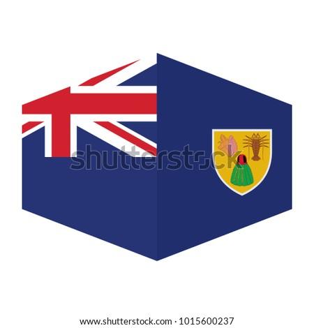 Kaart vlag knop eilanden brits vector Stockfoto © Istanbul2009