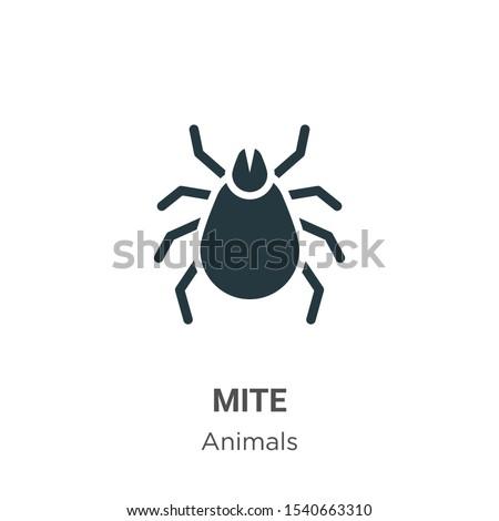 micro · parasiet · icon · vector · stijl · symbool - stockfoto © hermione