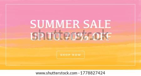 Moderne verkoop coupons bon ontwerpsjabloon meetkundig Stockfoto © SArts