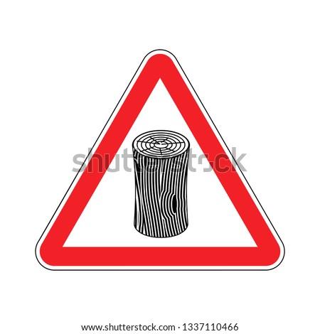 Atención signo precaución carretera rojo Foto stock © popaukropa
