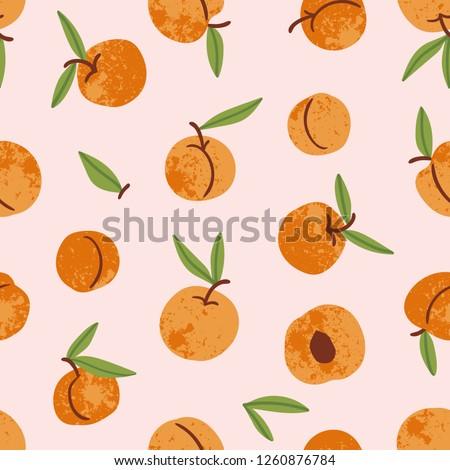 персика · абрикос · бесконечный · текстуры · плодов - Сток-фото © lucia_fox