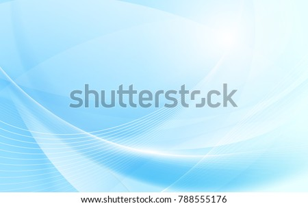 Résumé vecteur bleu ondulés lignes brochure Photo stock © fresh_5265954