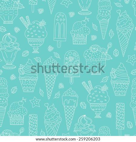 Pistacho helado gofre cono frío Foto stock © popaukropa