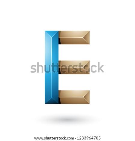 Blauw beige piramide zoals meetkundig Stockfoto © cidepix