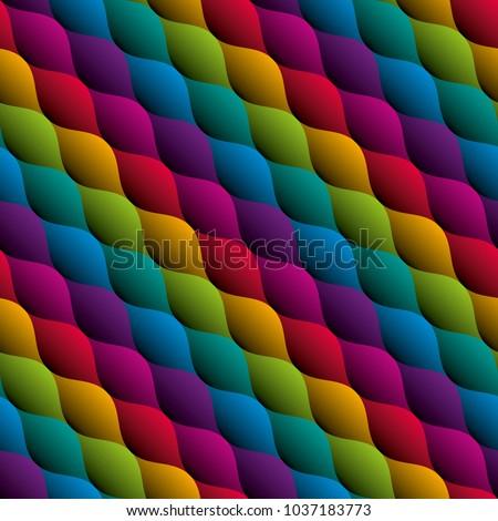 Sem costura padrão ziguezague moderno bordado Foto stock © ESSL