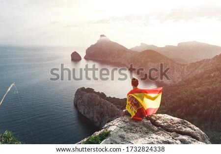 balearic islands flag stock photo © grafvision