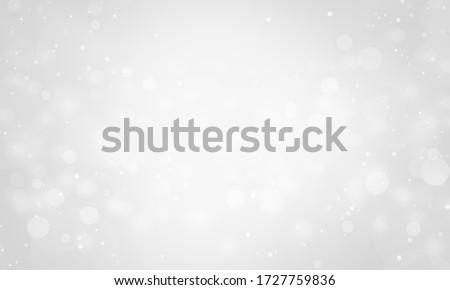 shining gold snowflakes on white background christmas and new year background vector illustration stock photo © olehsvetiukha
