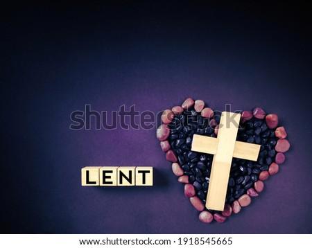 Worte Gott Liebe Kreuz Form christian Stock foto © kyryloff