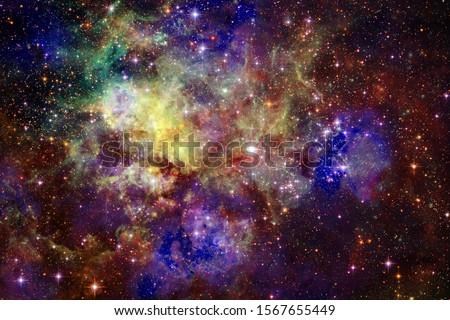 Universum abstract communie afbeelding ruimte Stockfoto © NASA_images