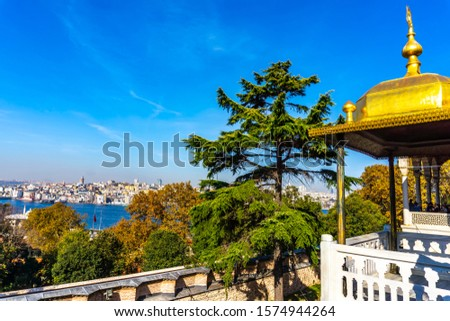 Baghdad Kiosk and Iftar Pavilion at Topkapi Palace in Istanbul,  Stock photo © boggy