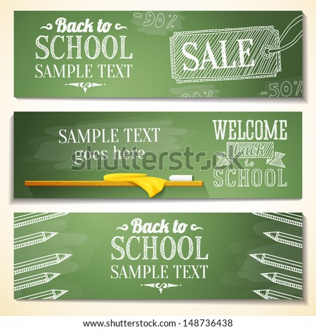 Back to School Sale Design with Colorful Pencil and Hand Drawn Doodles on Square Grid Background. Ve Stock photo © articular