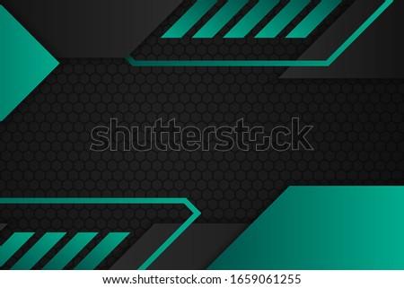 élégante turquoise couleur forme carte de visite affaires Photo stock © SArts
