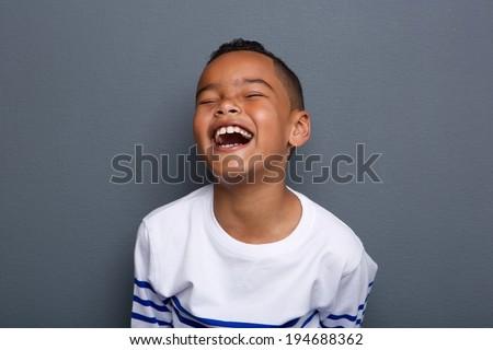 Legal risonho feliz criança Foto stock © lovleah