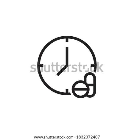 relógio · prescrição · saúde · medicina - foto stock © devon