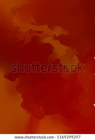 vector abstract scarlet red watercolor background for your de stock photo © maximmmmum
