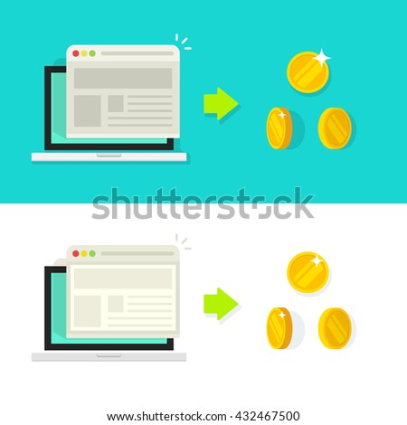 Stock photo: Conversion Rate Optimisation Icon. Business Concept. Flat Design