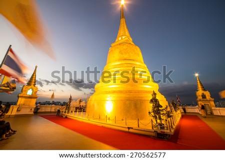Górę złoty historyczny dzielnica Bangkok Tajlandia Zdjęcia stock © Mariusz_Prusaczyk