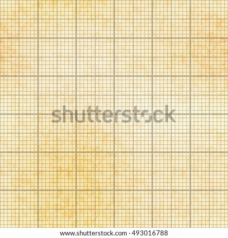 One millimeter grid on old paper with texture, seamless pattern Stock photo © Evgeny89
