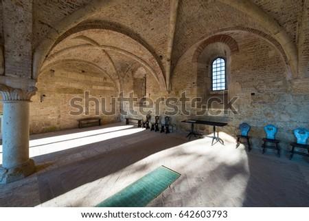 глава дома внутри аббатство внутренний мнение Сток-фото © bubutu