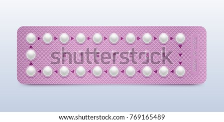 Realistic Condom Vector. Contraceptive method Concept. Unpacked And Packed Condoms. Male Contracepti Stock photo © pikepicture