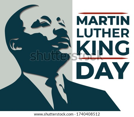 Martin Luther King Jr. Day Stock photo © Oakozhan