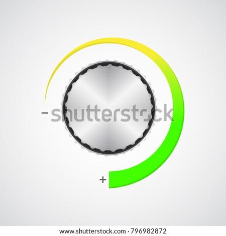 Specjalny metaliczny tom przycisk chrom tekstury Zdjęcia stock © place4design