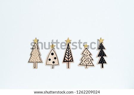 Stockfoto: Stijl · christmas · wenskaart · Rood · houten