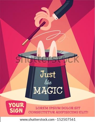 магия · Hat · исполнении · зеленый · черный - Сток-фото © marysan