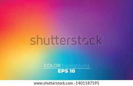 Luminoso colore gradiente texture brochure Foto d'archivio © olehsvetiukha