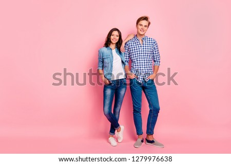 Photo souriant couple homme femme Photo stock © deandrobot