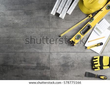 архитектора строителя развивающийся строительство проект Сток-фото © Kzenon
