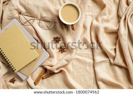 kahvaltı · kahve · fincanı · tablo · brunch - stok fotoğraf © anneleven