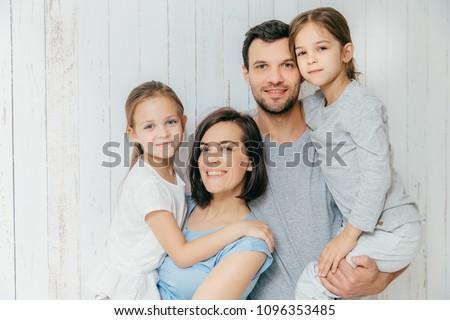 красивый женщины мужчины родителей красивой Сток-фото © vkstudio