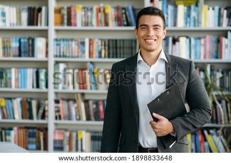 Profissional masculino gerente formal terno Foto stock © vkstudio