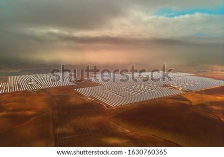 Luchtfoto geconcentreerde plant afbeelding punt Stockfoto © amok