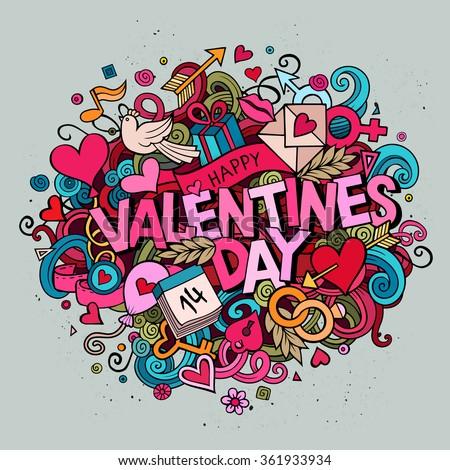 Key And Heart As A Gift Valentines Day Logo Design Vector Illu Stock photo © balabolka