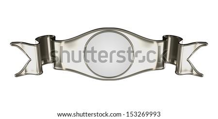 Zilver embleem label nuttig certificaat geïsoleerd Stockfoto © Arsgera