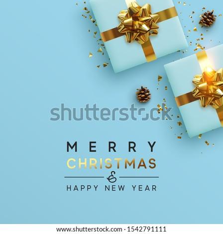Belo folheto feliz ano novo modelo vetor colorido Foto stock © bharat