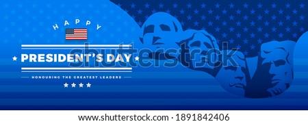 Elnök nap Egyesült Államok Amerika színes vektor Stock fotó © bharat