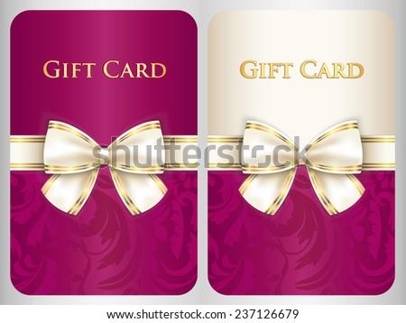 Függőleges ajándékkártya damaszt dísz krém átló Stock fotó © liliwhite