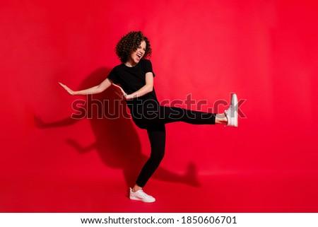 美少女 脚 孤立した 白 女性 ストックフォト © artfotodima