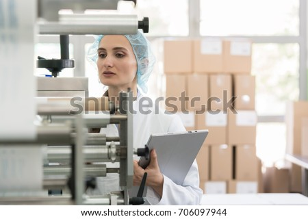 Manufacturing supervisor looking worried during quality control  Stock photo © Kzenon
