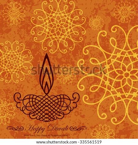 Foto d'archivio: Arancione · diwali · festival · mandala · decorazione · abstract